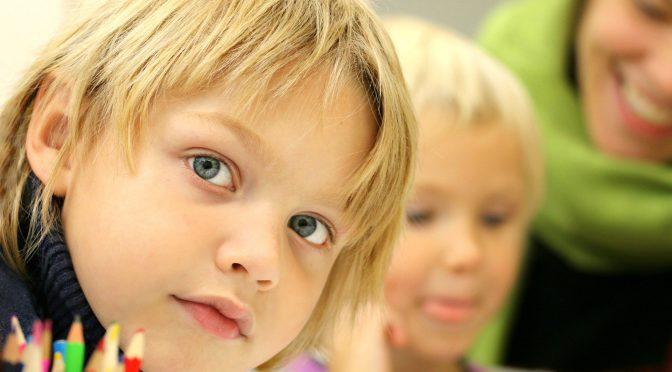 Barn som illustrerar Språklig sårbarhet