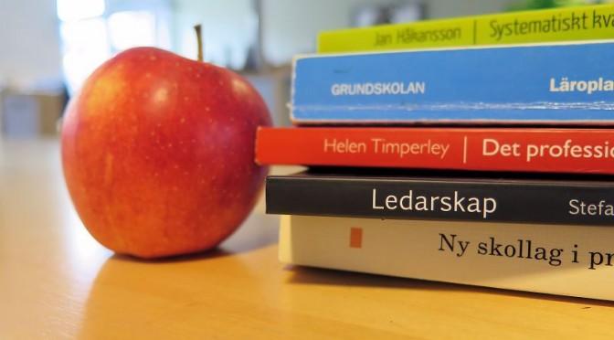 Tio forskningsbaserade principer för lärares professionsutveckling