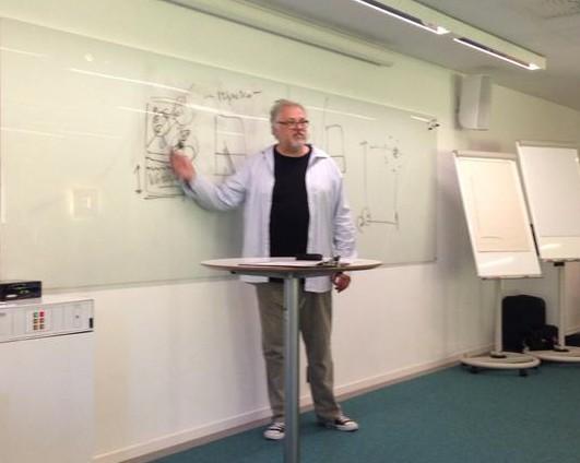 Mats Trondman, den 7 augusti 2015